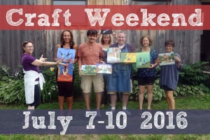 Craft Weekend @ Rochester Folk Art Guild | Middlesex | New York | United States