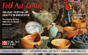 Holiday Festival of Crafts in Rochester
